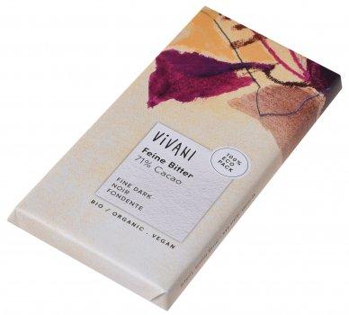 Шоколад Vivani чорний органічний 71% 100 г (4044889001006)