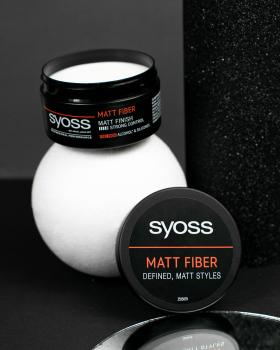 Паста матувальна для волосся Syoss Matt Fiber Фіксація 4 100 мл (9000101208542)
