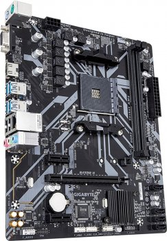 Материнська плата Gigabyte B450M H (sAM4, AMD B450, PCI-Ex16)