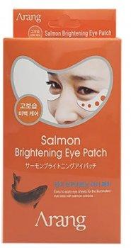 Набір патчів під очі Arang Salmon Brightening Eye Patch освітлювальні з ікрою лосося 5 г х 10 шт. (8809464011896)