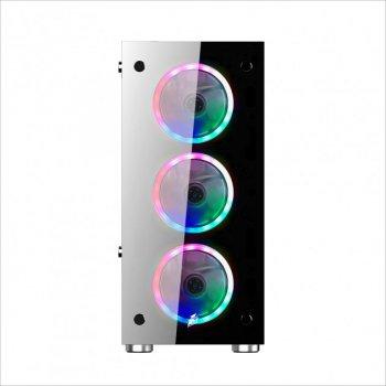 Корпус 1stPlayer V6-R1 Color LED Black без БП