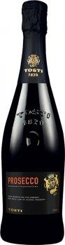 Упаковка вина игристого Tosti Prosecco D.O.C. біле экстра сухое 11% 0.75 л х 6 шт (8034042196751)