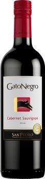 Упаковка вина Gato Negro Cabernet Sauvignon красное сухое 0.75 л 13% х 6 шт (17804300010635)