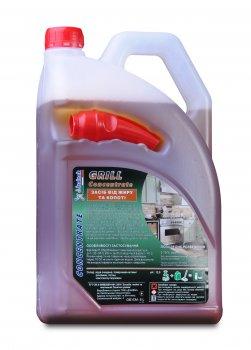 Средство для чистки очень жирных поверхностей Italtek Grill 5 л
