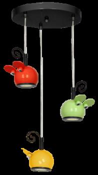 Стельовий світильник бра Luminex Mouse дитячий Різнобарвний (7919)