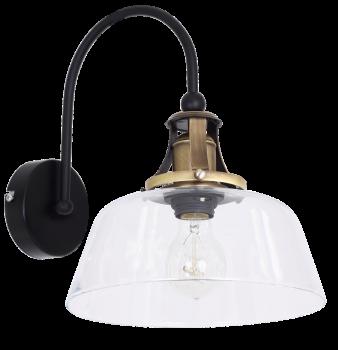 Настінний світильник бра Luminex Celaya Прозорий (7801)