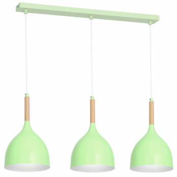 Стельовий світильник бра Luminex Nolan дитячий Зелений (9420)