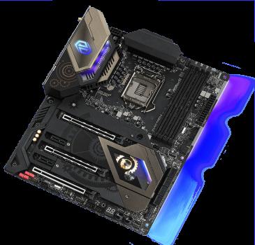 Материнська плата ASRock Z490 Taichi (s1200, Intel Z490, PCI-Ex16)