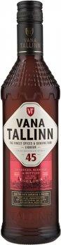 Упаковка ликера Vana Tallinn 45% 0.5 л х 12 шт (44740050002114)