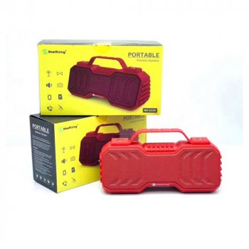 Bluetooth Speaker NewRixing NR2029 Red (28586)