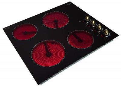 Варочная поверхность электрическая Luxor RM 640 Rustik BE + фирменная прихватка в подарок черный, прочие цвета