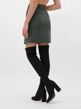 Юбка Fashion Up YUB-1076B Темно-зеленая