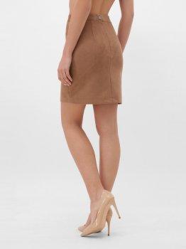 Юбка Fashion Up YUB-1078E Светло-коричневая