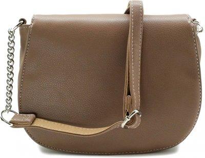 Женская сумка David Jones 7771857 Бежевая (1000007771857)