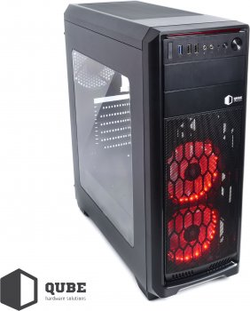 Корпус QUBE QBR09 Black (QBR09_WRNU3)