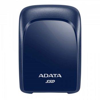 Портативний SSD A-DATA SC680 480GB Portable USB 3.2 Type-C 3D NAND TLC Blue (ASC680-480GU32G2-CBL)