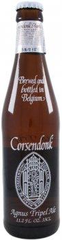 Упаковка пива Corsendonk Agnus светлое нефильтрованное 7.5% 0.33 л х 24 шт (54069022)
