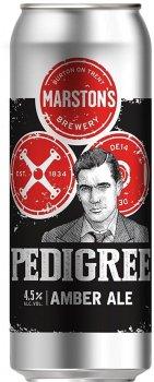 Упаковка пива Marston's Pedigree янтарное фильтрованное 4.5% 0.5 л х 24 шт (250009846684)