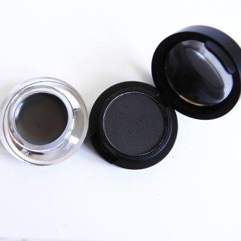 Помадка для брів + тіні для брів 2в1 La Rosa EG-302-203 темний графіт (6933495803044)