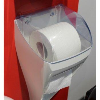 Щітка для унітазу Marplast з тримач туалетного паперу DUO LINEA SKIN (A92110)
