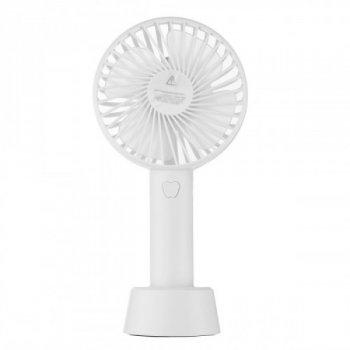 Ручний міні-вентилятор Arivans 11х8 см білий 01237