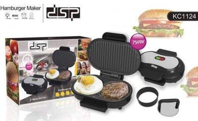 Гриль-котлетница для гамбургеров DSP KC1124