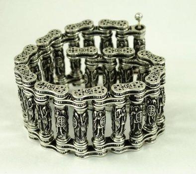 Эксклюзивный браслет с архангелами Maxi Silver 8876