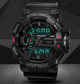 Чоловічі наручні годинники Sanda Box