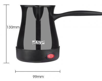 Электрическая турка DSP Professional KA3027 Кофеварка 600 Ватт 300 мл Черная