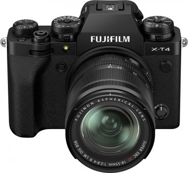 Фотоапарат Fujifilm X-T4 + XF 18-55 mm F2.8-4 R LM OIS Kit Black (16650742) Офіційна гарантія!