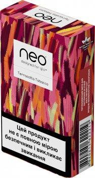 Блок стиків для нагрівання тютюну glo Neo Demi Terracotta Tobacco 10 пачок (4820215622219)