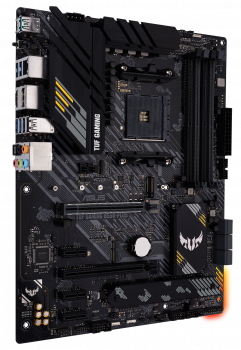 Материнская плата Asus TUF Gaming B550-Plus (sAM4, AMD B550, PCI-Ex16)