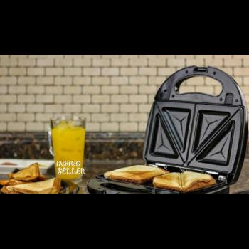 Мультимейкер 3 в 1 DSP електрична сендвичница, вафельниця, гриль 750Вт двухстороннний тен KC1049