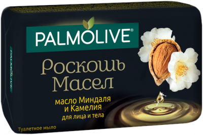 Мыло Palmolive Роскошь масел с маслом миндаля и камелии 90 г х 6 шт (8693495050210)