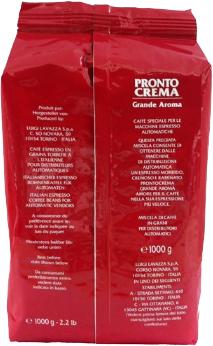 Кава в зернах Lavazza Pronto Crema Grande Aroma 1 кг (8000070078215)