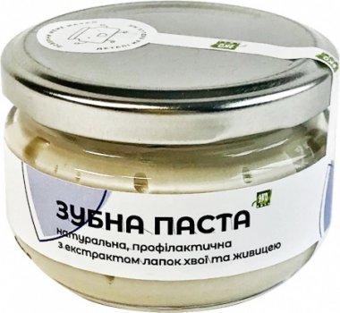 Натуральная зубная паста Эколюкс с экстрактом лапок хвои 100 мл Стекло (3113)