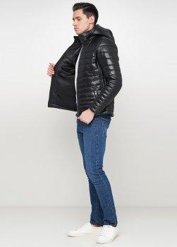 Куртка из натуральной кожи зимняя Leather Factory 264002 черная (Leather Family)