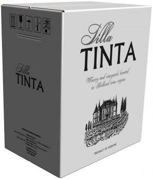 Вино Villa Tinta Каберне червоне сухе 3 л 12-13% (4820213580139)