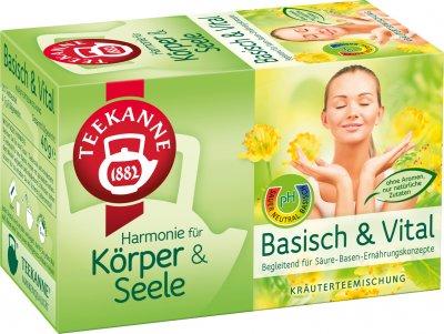 Чай травяной пакетированный Teekanne Гармония Основа и жизнь 20 пакетиков (4009300013006)