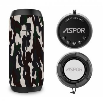 Портативна Bluetooth колонка Aspor P-7 Military
