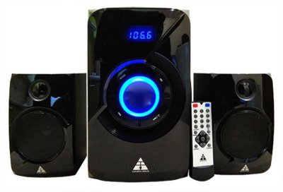 Комп'ютерна акустична система Golden Field LA-165C BT Black