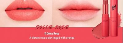 Помада CLIO Mad Matte Lips 011 Dolce Rose