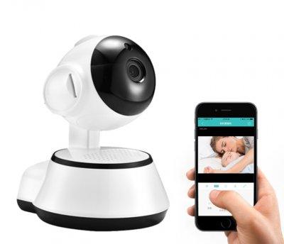 Wi-Fi Видеоняня и радионяня Escam поворотная с датчиком движения для мобильного телефона