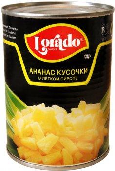 Ананас кусочками Lorado 580 мл (4008638112016)