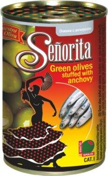 Оливки Señorita Анчоус 280 г (8436024295283)