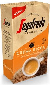 Кава мелена Segafredo Crema Ricca 225 г (8003410247838)