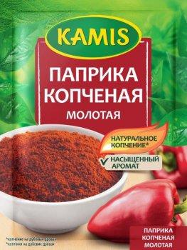 Упаковка перца Kamis Копченая паприка 20 г х 4 шт (5900084267144)