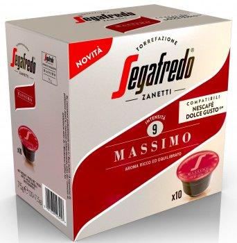 Кава в капсулах Segafredo Massimo Dolce Gusto 10 шт. x 7.5 г (8003410243397)