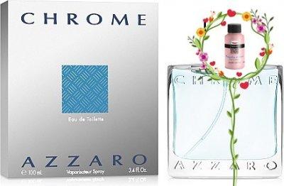 Мужская парфюмерия Туалетная вода Azzaro Chrome man edt 100ml (8595562299167)