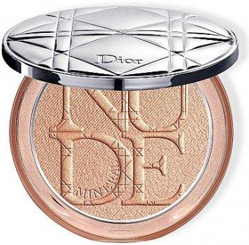 Пудра Осветляющая пудра для лица Dior Diorskin Mineral Nude Luminizer Powder 03 - Golden Glow (3348901399906)
